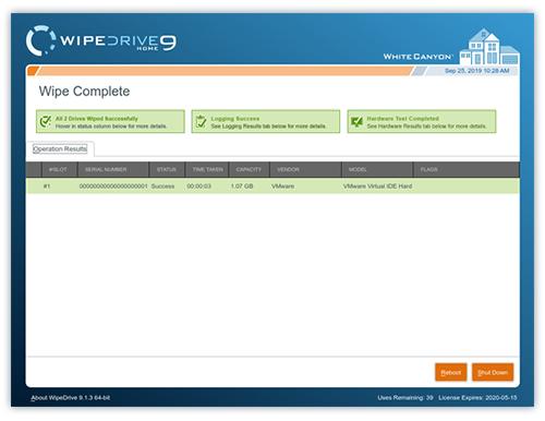 WipeDrive Enterprise