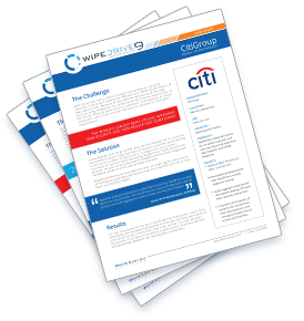 CitiGroup case study papers